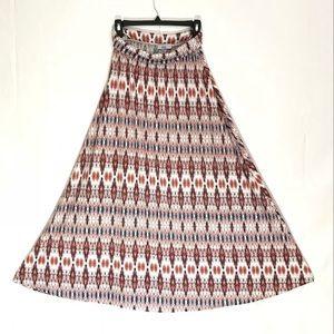 Boho Chic Maxi Skirt ❤️💙